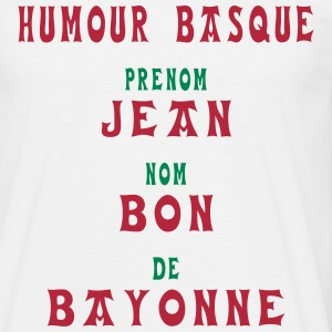 humour basque Tee shirts - T-shirt Homme