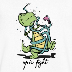 Epic Fight T-shirts - T-shirt med v-ringning herr