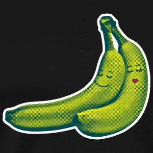 Black Black BANANA LOVE T-Shirts T-Shirts - Men's Premium T-Shirt