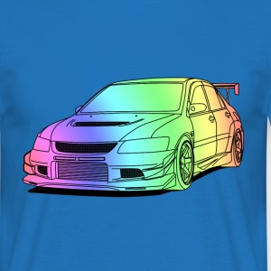 Lancer colourful T-shirts - Herre-T-shirt