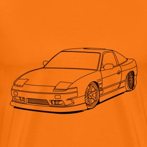 240sx outlines T-Shirts - Men's Premium T-Shirt