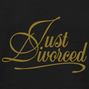 Just Divorced - Männer T-Shirt
