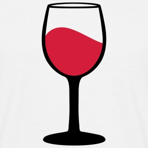 Wine glass T-Shirts - Men's T-Shirt