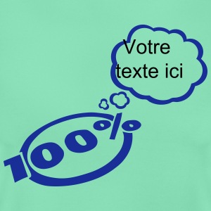 100 bubble thought empty add text T-Shirts - Women's T-Shirt
