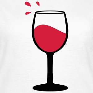 Wine glass, sommelier T-Shirts - Women's T-Shirt