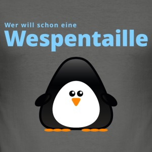 Wespentaille - Männer Slim Fit T-Shirt