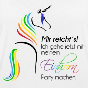 Einhorn-Party - Frauen Oversize T-Shirt