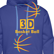 Motif ~ 3D Basket Ball sweatshirt