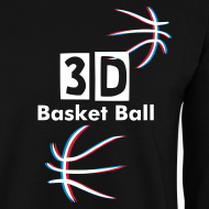 Motif ~ 3D Basket Ball sweat