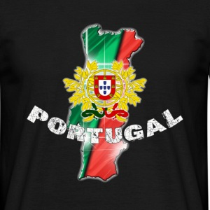 T-shirt man Portugal - Mannen T-shirt