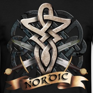 tribal_knot_viking_b T-skjorter - T-skjorte for menn