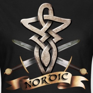 tribal_knot_viking_e T-shirts - T-shirt dam