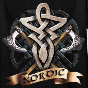 tribal_knot_viking_a T-shirts - Teenager-T-shirt