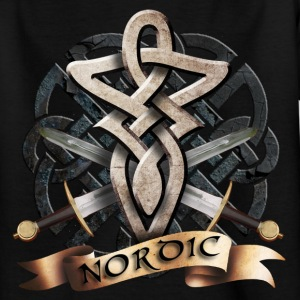 tribal_knot_viking_b Tee shirts - T-shirt Ado