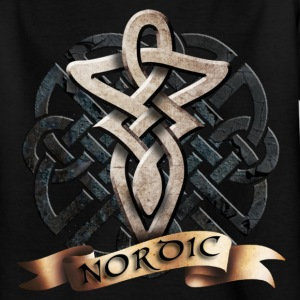 tribal_knot_viking_c Tee shirts - T-shirt Ado