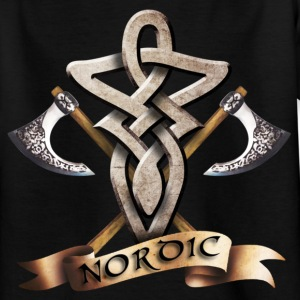 tribal_knot_viking_d Tee shirts - T-shirt Ado