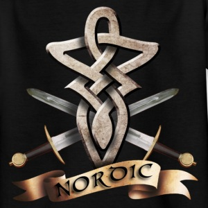 tribal_knot_viking_e T-shirts - Teenager-T-shirt