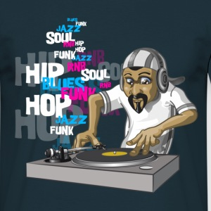 Hip-hop DJ - Men's T-Shirt
