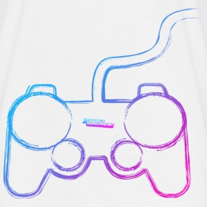 Controller Graffiti Gamer T-Shirts - Men's T-Shirt