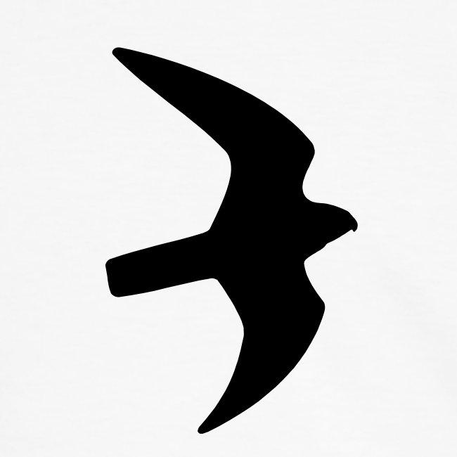 Greifvogel-Silhouetten