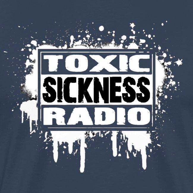 NEW Mens Toxic Sickness Radio Green T-Shirt