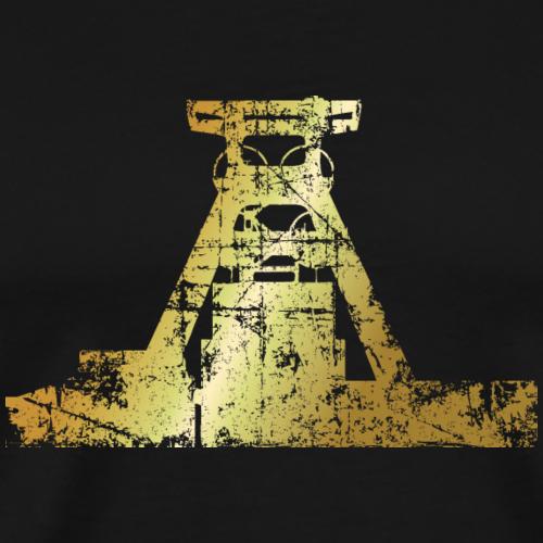 Zeche Zollverein Antik Gold