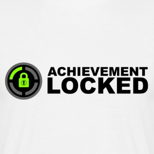 Achievement Locked Gamer T-Shirts - Men's T-Shirt