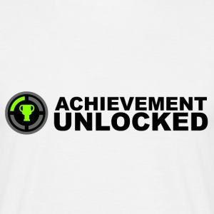 Achievement Unlocked Gamer T-Shirts - Men's T-Shirt