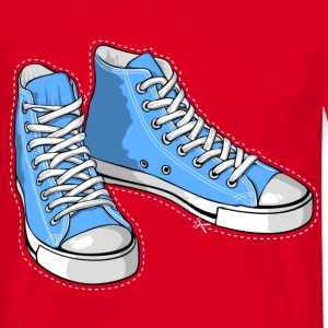 Blue sneakers - Men's T-Shirt