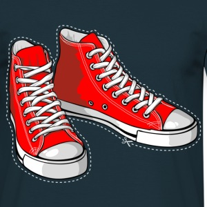 Red sneakers - Men's T-Shirt