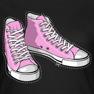Pink sneakers - Women's T-Shirt