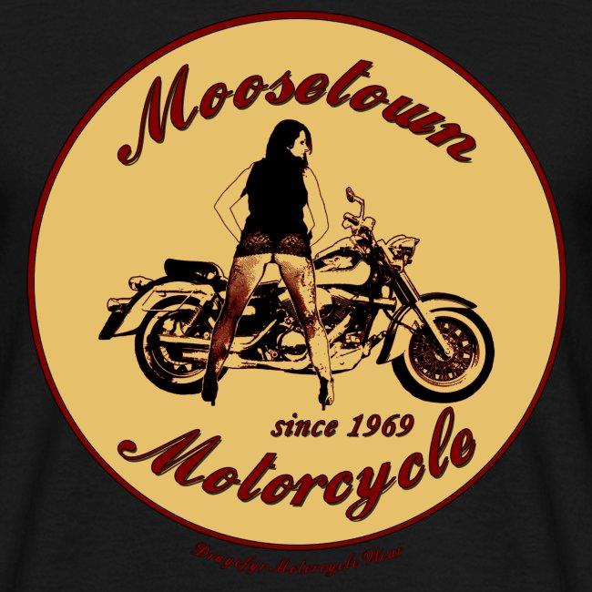 Moosetown Motorcycle | Biker T-Shirt