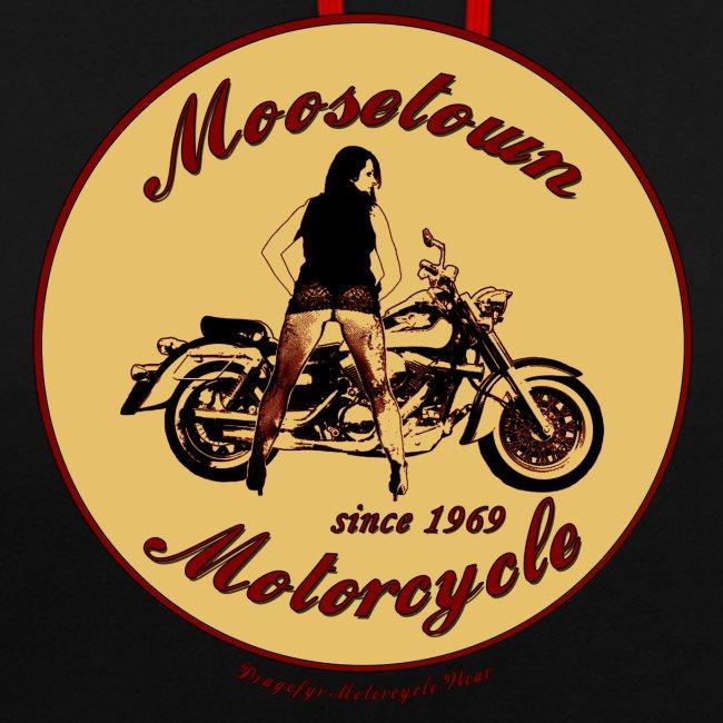 Moosetown Motorcycle   Biker Hoody