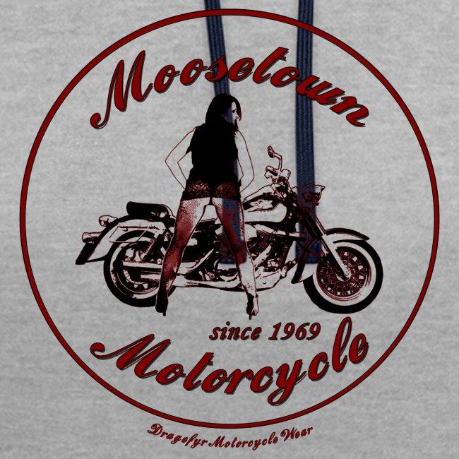 Moosetown Motorcycle hell | Biker Hoody