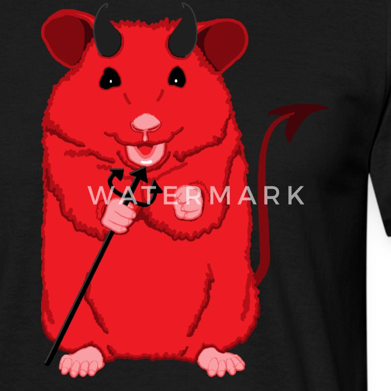 Devil hamster - Men's T-Shirt