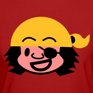 Violet pirate_mike T-shirts - T-shirt Bio Femme