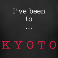 Design ~ I've been to Kyoto, black, woman