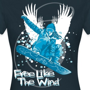 free like the wind - T-shirt Femme
