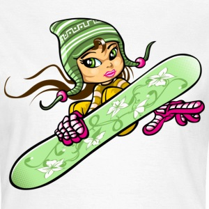 Snow girl and inca hat - T-shirt Femme