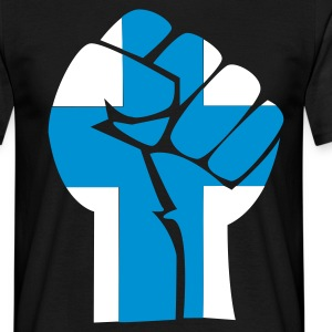 fist Suomi - T-skjorte for menn