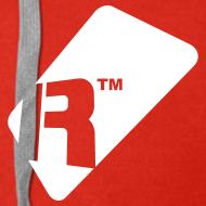 Design ~ Men's Zip Up Hoodie - White Renoise Tag