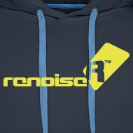 Design ~ Men's Hoodie - Yellow Renoise Logo