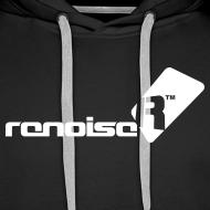 Design ~ Men's Hoodie - White Renoise Logo