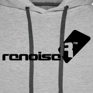 Design ~ Men's Hoodie - Black Renoise Logo
