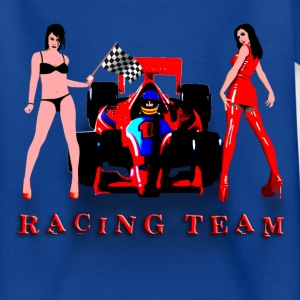 racing_car_a T-shirts - Teenager-T-shirt