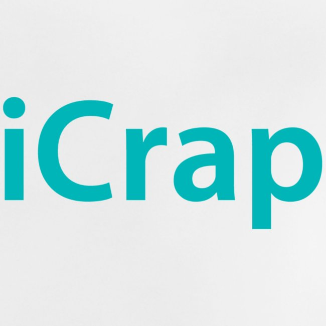 iCrap. Stoer shirt voor baby's en kinderen