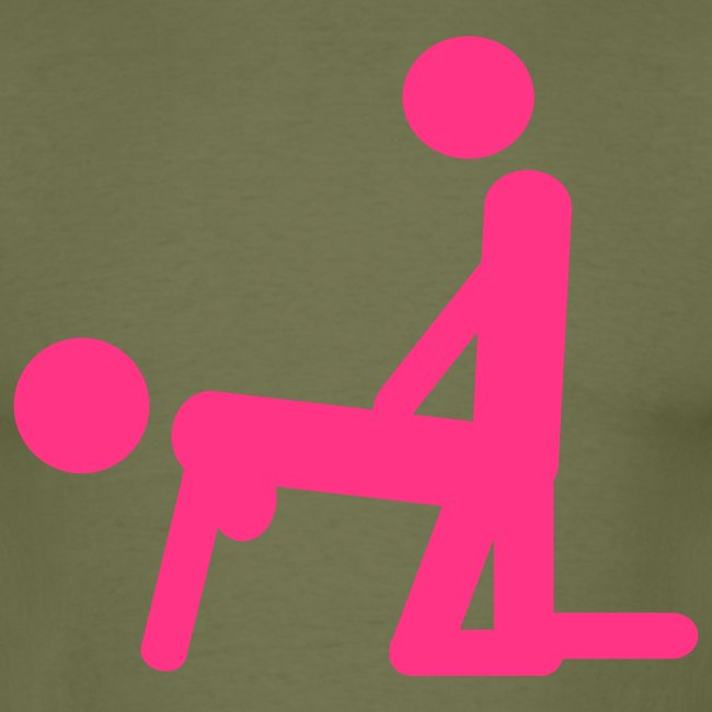 "Men's Neon T-shirt ""Porn Star"""