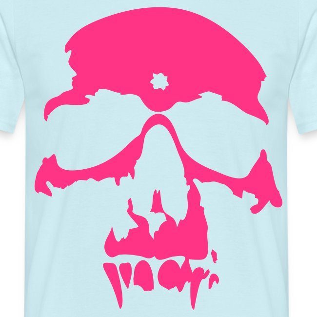 "Men's Neon T-shirt ""Vampire Skull"""