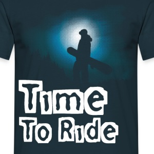 Time to ride - T-shirt Homme