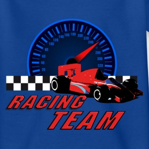 car_racer_c T-shirts - Teenager-T-shirt